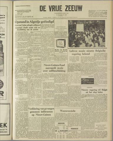 de Vrije Zeeuw 1961-04-26