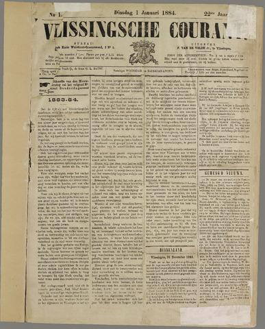 Vlissingse Courant 1884