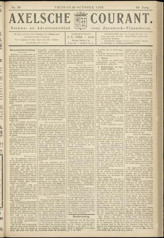 Axelsche Courant 1926-10-29
