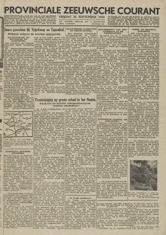 Provinciale Zeeuwse Courant 1943-09-24
