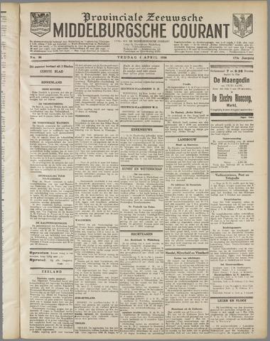 Middelburgsche Courant 1930-04-04