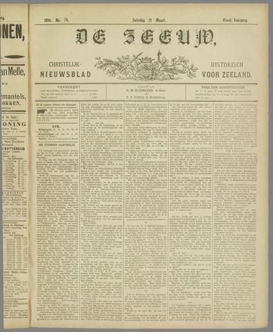 De Zeeuw. Christelijk-historisch nieuwsblad voor Zeeland 1896-03-21