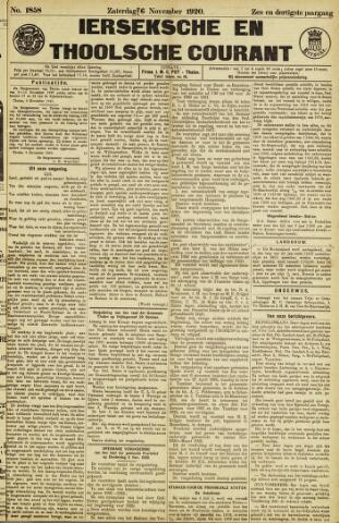 Ierseksche en Thoolsche Courant 1920-11-06