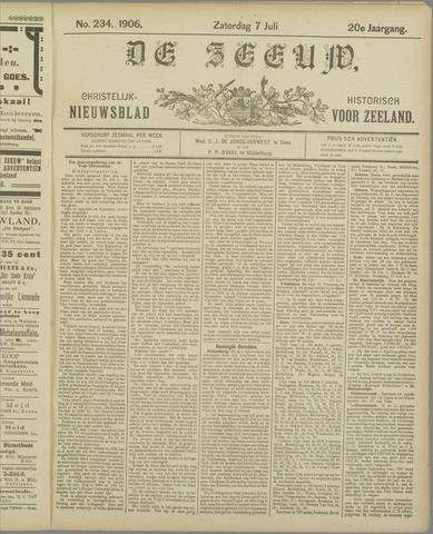 De Zeeuw. Christelijk-historisch nieuwsblad voor Zeeland 1906-07-07