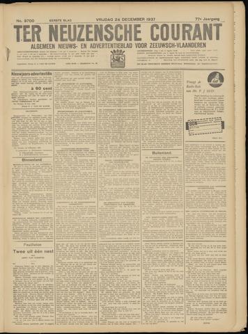 Ter Neuzensche Courant. Algemeen Nieuws- en Advertentieblad voor Zeeuwsch-Vlaanderen / Neuzensche Courant ... (idem) / (Algemeen) nieuws en advertentieblad voor Zeeuwsch-Vlaanderen 1937-12-24
