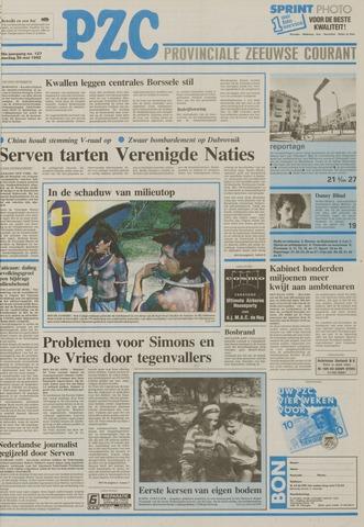Provinciale Zeeuwse Courant 1992-05-30