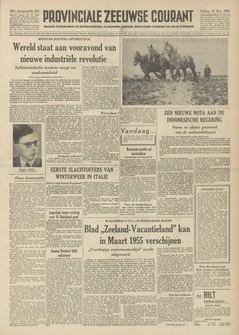 Provinciale Zeeuwse Courant 1954-11-19
