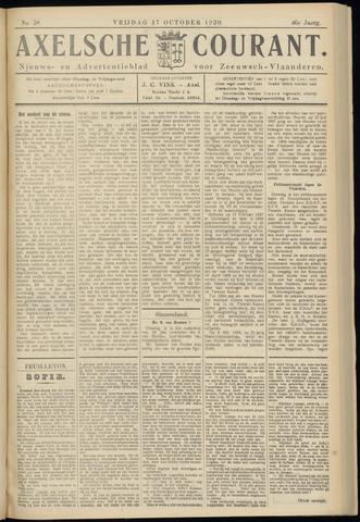 Axelsche Courant 1930-10-17