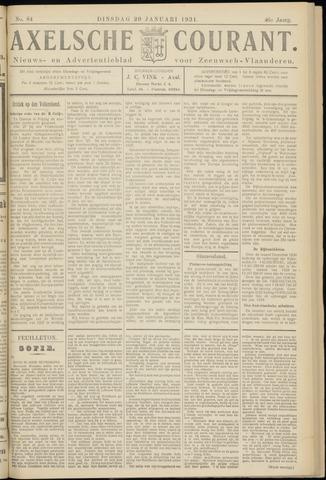 Axelsche Courant 1931-01-20