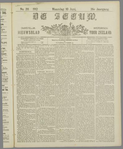 De Zeeuw. Christelijk-historisch nieuwsblad voor Zeeland 1912-06-10