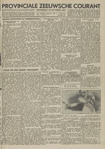 Provinciale Zeeuwse Courant 1943-10-20
