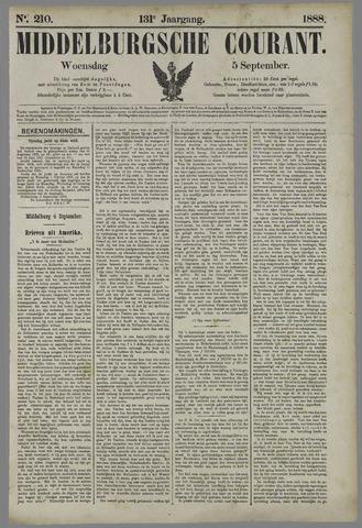 Middelburgsche Courant 1888-09-05