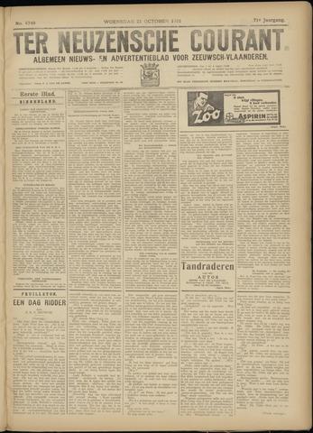 Ter Neuzensche Courant. Algemeen Nieuws- en Advertentieblad voor Zeeuwsch-Vlaanderen / Neuzensche Courant ... (idem) / (Algemeen) nieuws en advertentieblad voor Zeeuwsch-Vlaanderen 1931-10-21
