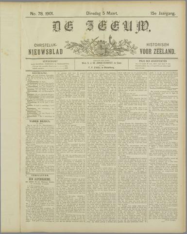 De Zeeuw. Christelijk-historisch nieuwsblad voor Zeeland 1901-03-05