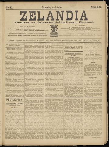 Zelandia. Nieuws-en advertentieblad voor Zeeland | edities: Het Land van Hulst en De Vier Ambachten 1902-10-04