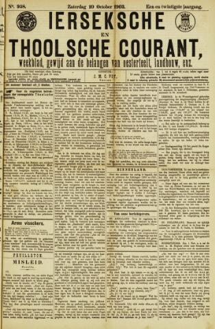Ierseksche en Thoolsche Courant 1903-10-10