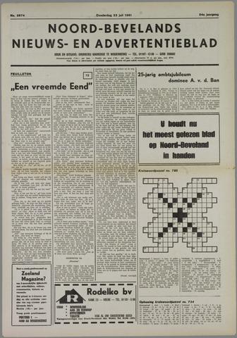 Noord-Bevelands Nieuws- en advertentieblad 1981-07-23