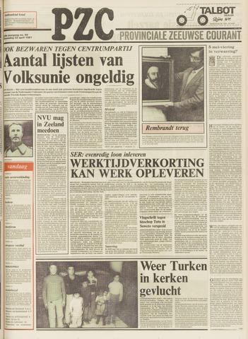 Provinciale Zeeuwse Courant 1981-04-22