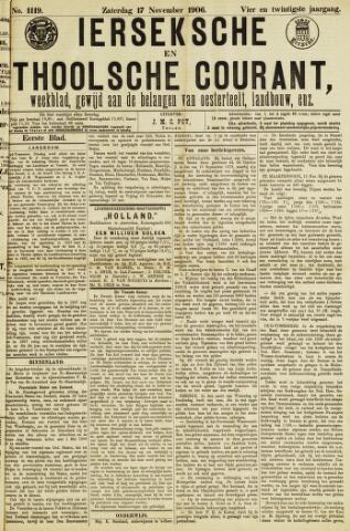 Ierseksche en Thoolsche Courant 1906-11-17