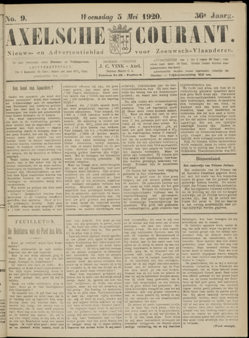 Axelsche Courant 1920-05-05