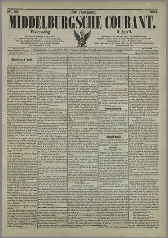 Middelburgsche Courant 1893-04-05