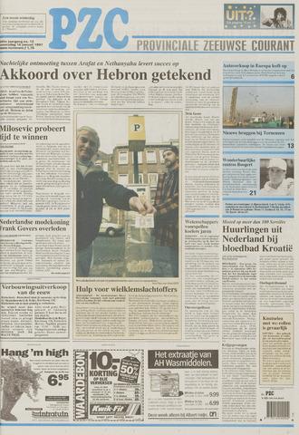Provinciale Zeeuwse Courant 1997-01-15