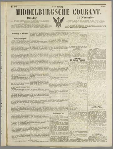 Middelburgsche Courant 1908-11-17