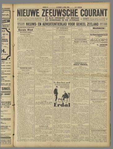 Nieuwe Zeeuwsche Courant 1925-04-04