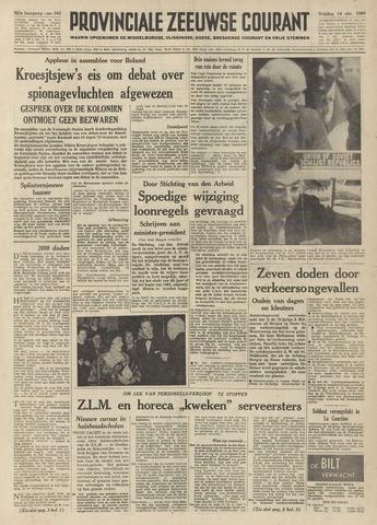 Provinciale Zeeuwse Courant 1960-10-14