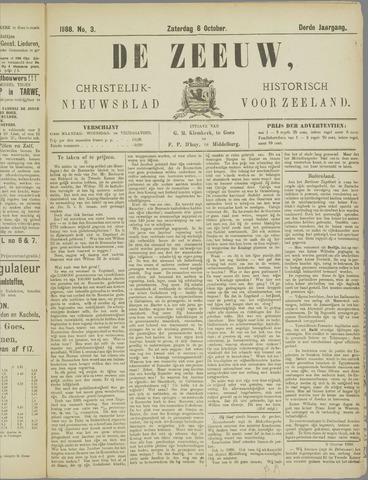 De Zeeuw. Christelijk-historisch nieuwsblad voor Zeeland 1888-10-06