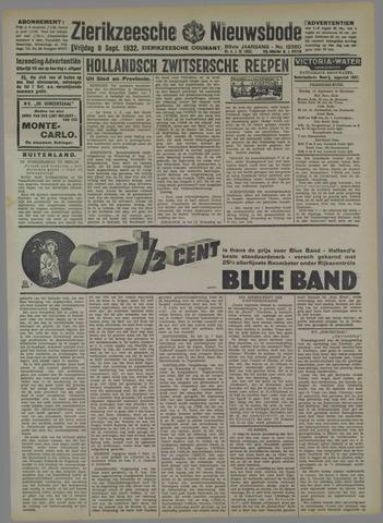 Zierikzeesche Nieuwsbode 1932-09-09