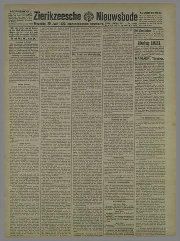 Zierikzeesche Nieuwsbode 1923-06-25