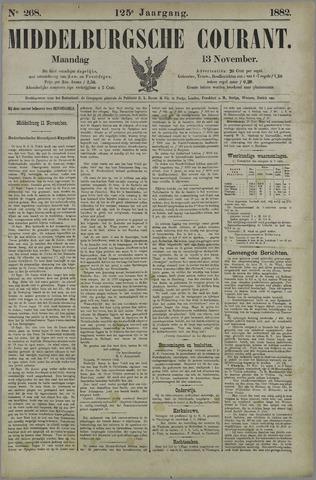 Middelburgsche Courant 1882-11-13