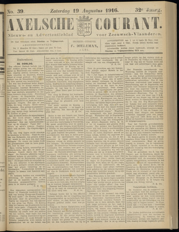 Axelsche Courant 1916-08-19