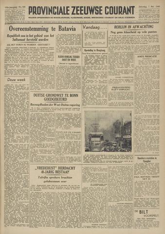 Provinciale Zeeuwse Courant 1949-05-07