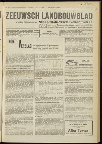 Zeeuwsch landbouwblad ... ZLM land- en tuinbouwblad 1951-09-22