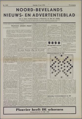 Noord-Bevelands Nieuws- en advertentieblad 1970-06-13