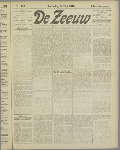 De Zeeuw. Christelijk-historisch nieuwsblad voor Zeeland 1915-05-08