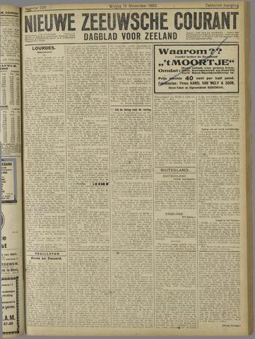 Nieuwe Zeeuwsche Courant 1920-11-12