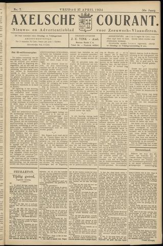 Axelsche Courant 1934-04-27