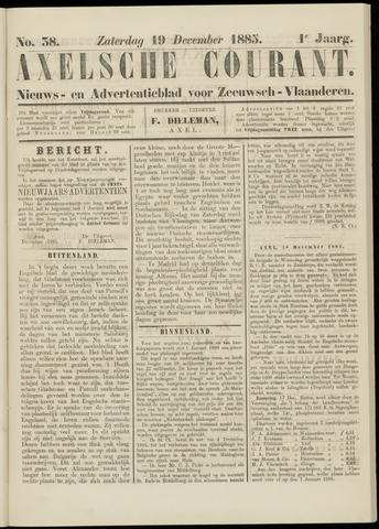 Axelsche Courant 1885-12-19