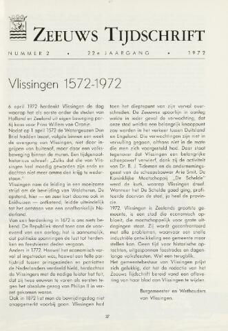 Zeeuws Tijdschrift 1972-03-01