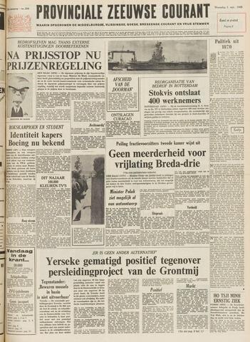 Provinciale Zeeuwse Courant 1969-09-03