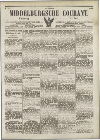 Middelburgsche Courant 1899-07-22