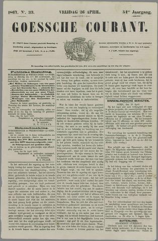 Goessche Courant 1867-04-26