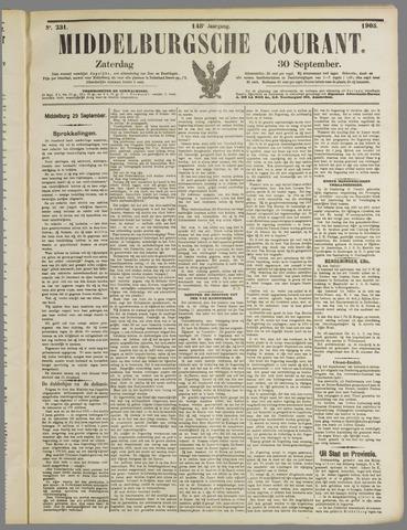 Middelburgsche Courant 1905-09-30