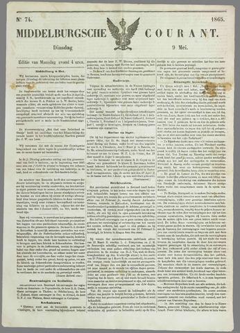 Middelburgsche Courant 1865-05-09
