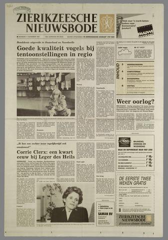 Zierikzeesche Nieuwsbode 1991-11-11