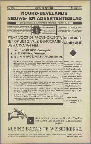 Noord-Bevelands Nieuws- en advertentieblad 1935-04-13