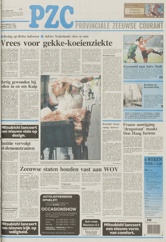 Provinciale Zeeuwse Courant 1996-03-22